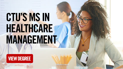ctu's ms in Healthcare management - view degree