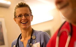 Nurse Networking With Other Nurses