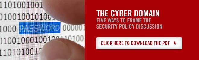 CTU Security Studies degree - The Cyber Domain